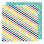American Crafts - Shimelle Collection - Starshine - 12 x 12 Double Sided Paper - Gemini