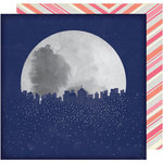 American Crafts - Starshine Collection - 12 x 12 Double Sided Paper - Magellan