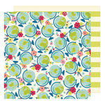 American Crafts - Shimelle Collection - Starshine - 12 x 12 Double Sided Paper - Exploration