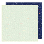 American Crafts - Shimelle Collection - Starshine - 12 x 12 Double Sided Paper - Hubble