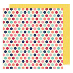 American Crafts - Shimelle Collection - Starshine - 12 x 12 Double Sided Paper - Horizon
