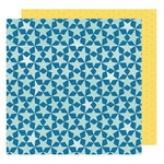 American Crafts - Shimelle Collection - Starshine - 12 x 12 Double Sided Paper - Kepler