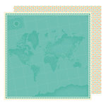 American Crafts - Shimelle Collection - Starshine - 12 x 12 Double Sided Paper - Pioneer