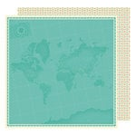 American Crafts - Starshine Collection - 12 x 12 Double Sided Paper - Pioneer