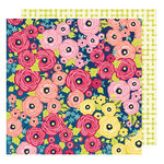 American Crafts - Shimelle Collection - Starshine - 12 x 12 Double Sided Paper - Mercury