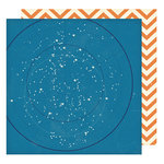 American Crafts - Shimelle Collection - Starshine - 12 x 12 Double Sided Paper - Curiosity