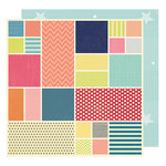 American Crafts - Shimelle Collection - Starshine - 12 x 12 Double Sided Paper - Galileo