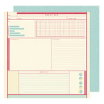 American Crafts - Shimelle Collection - Starshine - 12 x 12 Double Sided Paper - Apollo