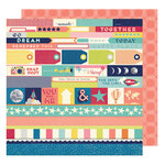 American Crafts - Shimelle Collection - Starshine - 12 x 12 Double Sided Paper - Orion