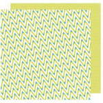 American Crafts - Shimelle Collection - Starshine - 12 x 12 Double Sided Paper - Viking