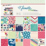 American Crafts - Shimelle Collection - Starshine - 12 x 12 Paper Pad