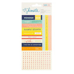 American Crafts - Starshine Collection - Cardstock Stickers - Accent and Phrase
