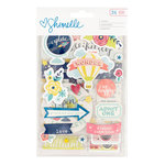 American Crafts - Shimelle Collection - Starshine - Chipboard Stickers