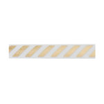 American Crafts - Fabric Tape - Gold Stripe - 0.375 Inches