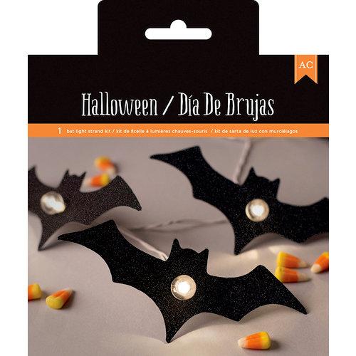 American Crafts - Halloween Collection - Bat Light Strand