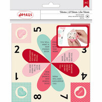 American Crafts - Valentines 2017 Collection - Fortune Teller Kit
