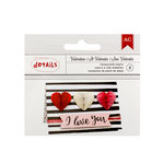 American Crafts - Valentines 2017 Collection - Heart Honeycombs