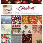 American Crafts - 12 x 12 Paper Pad - Christmas Photo Real