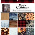 American Crafts - 12 x 12 Paper Pad - Rustic Christmas