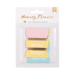 American Crafts - Memory Planner Collection - Tabs with Foil Accents