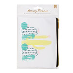American Crafts - Memory Planner Collection - Fabric Zipper Pouch
