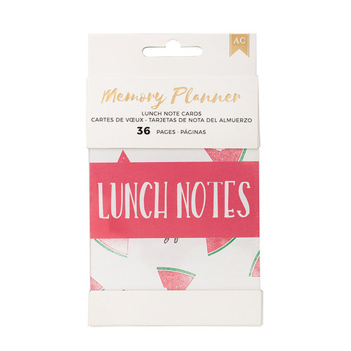 American Crafts - Memory Planner Collection - Insert - Small - Lunchbox