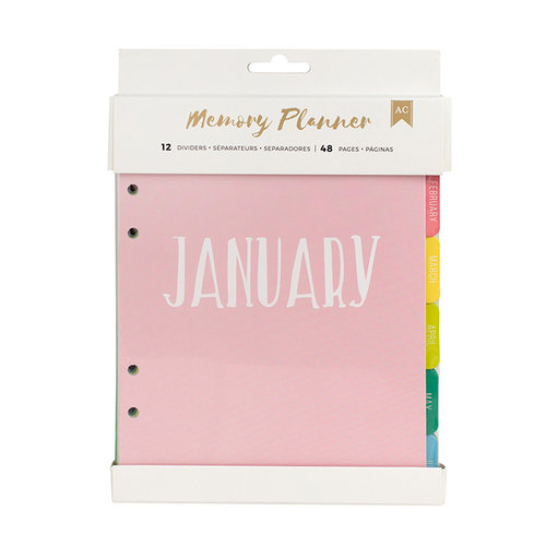 American Crafts - Memory Planner Collection - Starter Kit - 1 - Undated