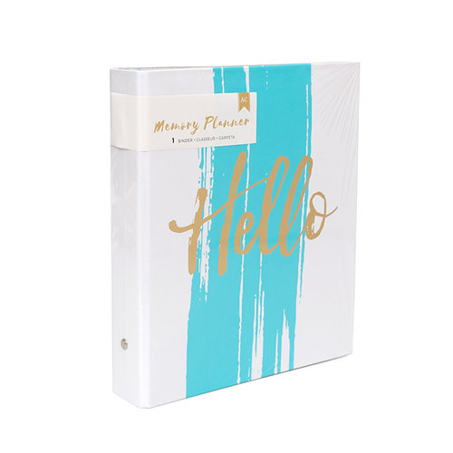 American Crafts - Memory Planner Collection - Binder Only - Hello