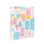 American Crafts - Memory Planner Collection - Binder Only - Popsicles