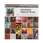 American Crafts - 12 x 12 Paper Pad - Modern Industrial Photo Real