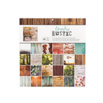 American Crafts - 12 x 12 Paper Pad - Country Rustic Photo Real