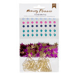 American Crafts - Memory Planner Collection - Marble Crush - Embellishments