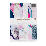 American Crafts - Memory Planner Collection - Marble Crush - 6.6 x 9.5 Paper Pad