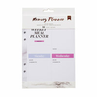 American Crafts - Memory Planner Collection - Marble Crush - Planner Inserts - Recipe