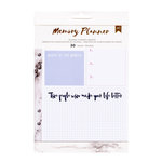American Crafts - Memory Planner Collection - Marble Crush - Planner Inserts - Journal