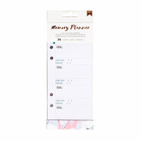 American Crafts - Memory Planner Collection - Marble Crush - Planner Inserts - Goals