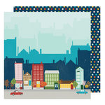 American Crafts - Go Now Go Collection - 12 x 12 Double Sided Paper - Walk