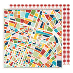 American Crafts - Go Now Go Collection - 12 x 12 Double Sided Paper - City
