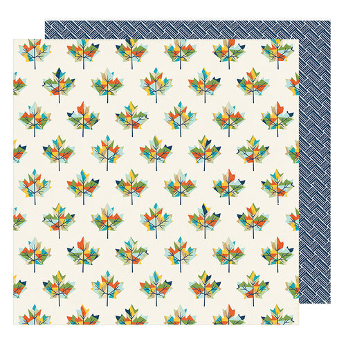 American Crafts - Go Now Go Collection - 12 x 12 Double Sided Paper - Live