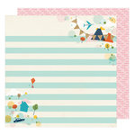 American Crafts - Go Now Go Collection - 12 x 12 Double Sided Paper - Stroll