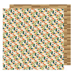American Crafts - Go Now Go Collection - 12 x 12 Double Sided Paper - Pond