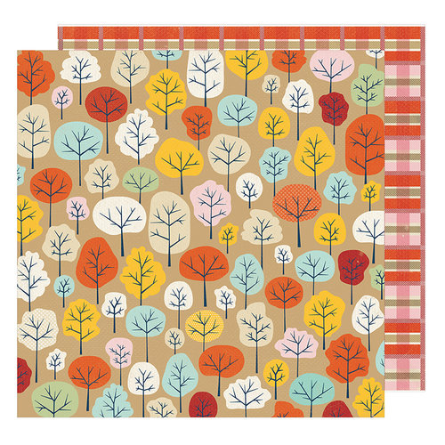 American Crafts - Go Now Go Collection - 12 x 12 Double Sided Paper - Park