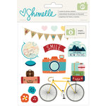 American Crafts - Go Now Go Collection - Sticker Book