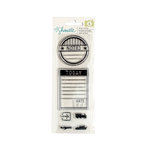 American Crafts - Go Now Go Collection - Clear Acrylic Stamps