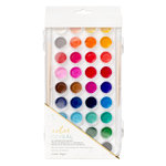 Crate Paper - Color Reveal Collection - Watercolor Set - 36 Colors