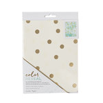 Crate Paper - Color Reveal Collection - Watercolor Notebook - 6 x 8 - Dots