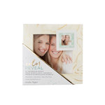 Crate Paper - Color Reveal Collection - Watercolor Frame - 4 x 4 - Photo - Marble