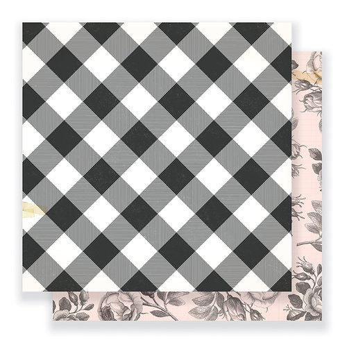 Crate Paper - Gather Collection - 12 x 12 Double Sided Paper - Favorite