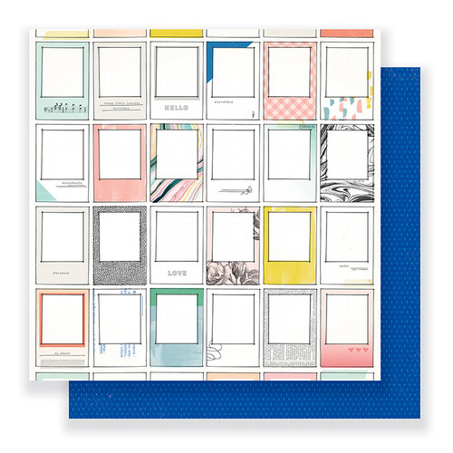 Crate Paper - Gather Collection - 12 x 12 Double Sided Paper - Moments