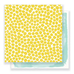 Crate Paper - Gather Collection - 12 x 12 Double Sided Paper - Sunshine